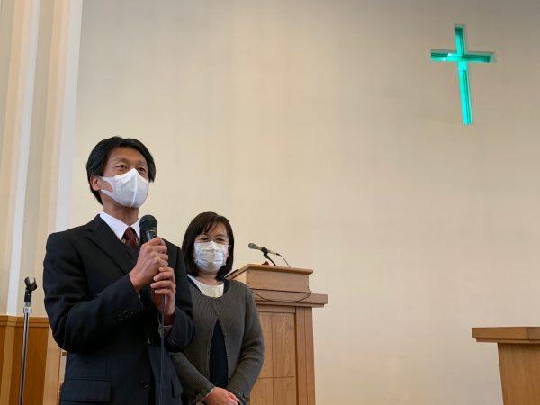 協力牧師 鮎川健一先生
